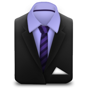 Suit-and-Purple-Stripes-Tie